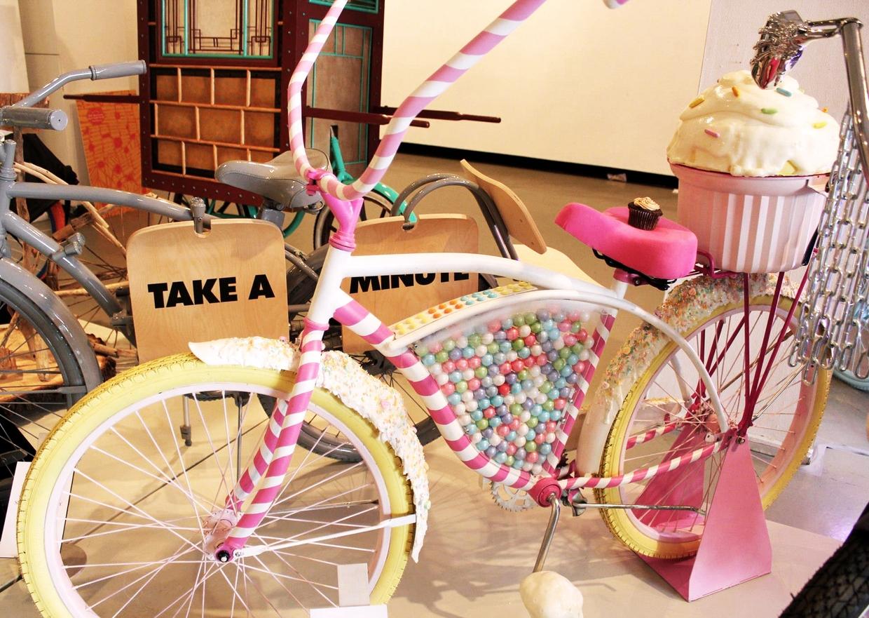 Украсить детский велосипед своими руками на праздник