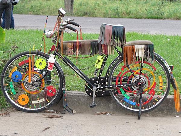 Как украсить колесо велосипеда своими руками 20