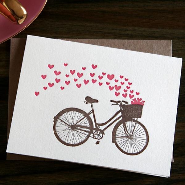 Восточных, открытки с велосипедом своими руками