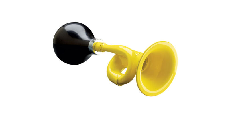Electra Bugle Horn Yellow