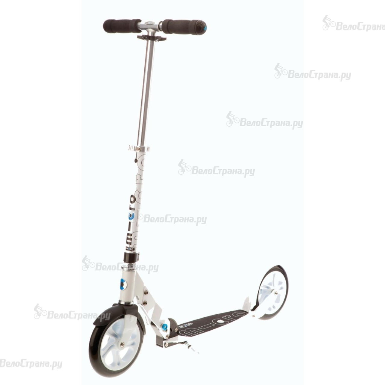 Самокат Micro SCOOTER WHITE самокат larsen scooter gss s2 001 n c n s