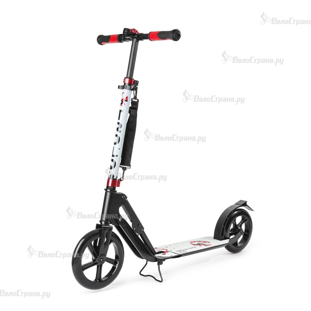 Самокат Trolo CITY BIG WHEEL 230 BLACK