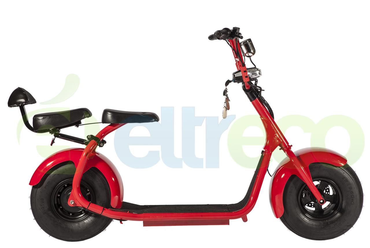 Элекстросамокат Eltreco FAT-SCOOTER 1000W CITY COCO контроллер coco ics 1000