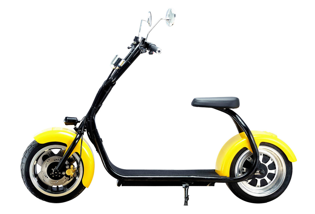 Электровелосипед Eltreco FAT-SCOOTER TUMBLER 800W CITY COCO