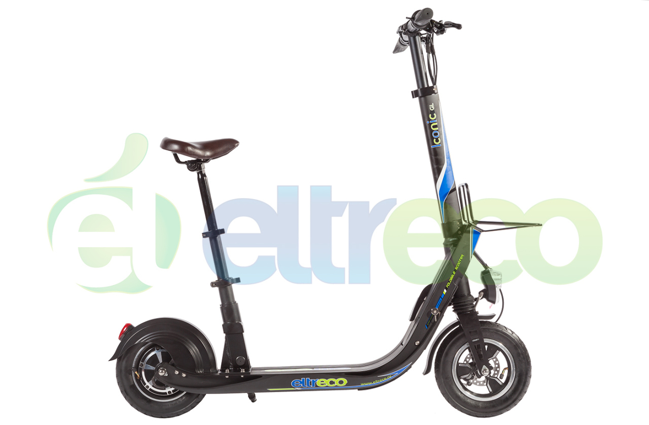 Элекстросамокат Eltreco ICONIC GL 48V 500W 48v 10 4ah lithium ion battery 500w fro g typ rear battery pack 48v electric bicycle 48v e bike battery