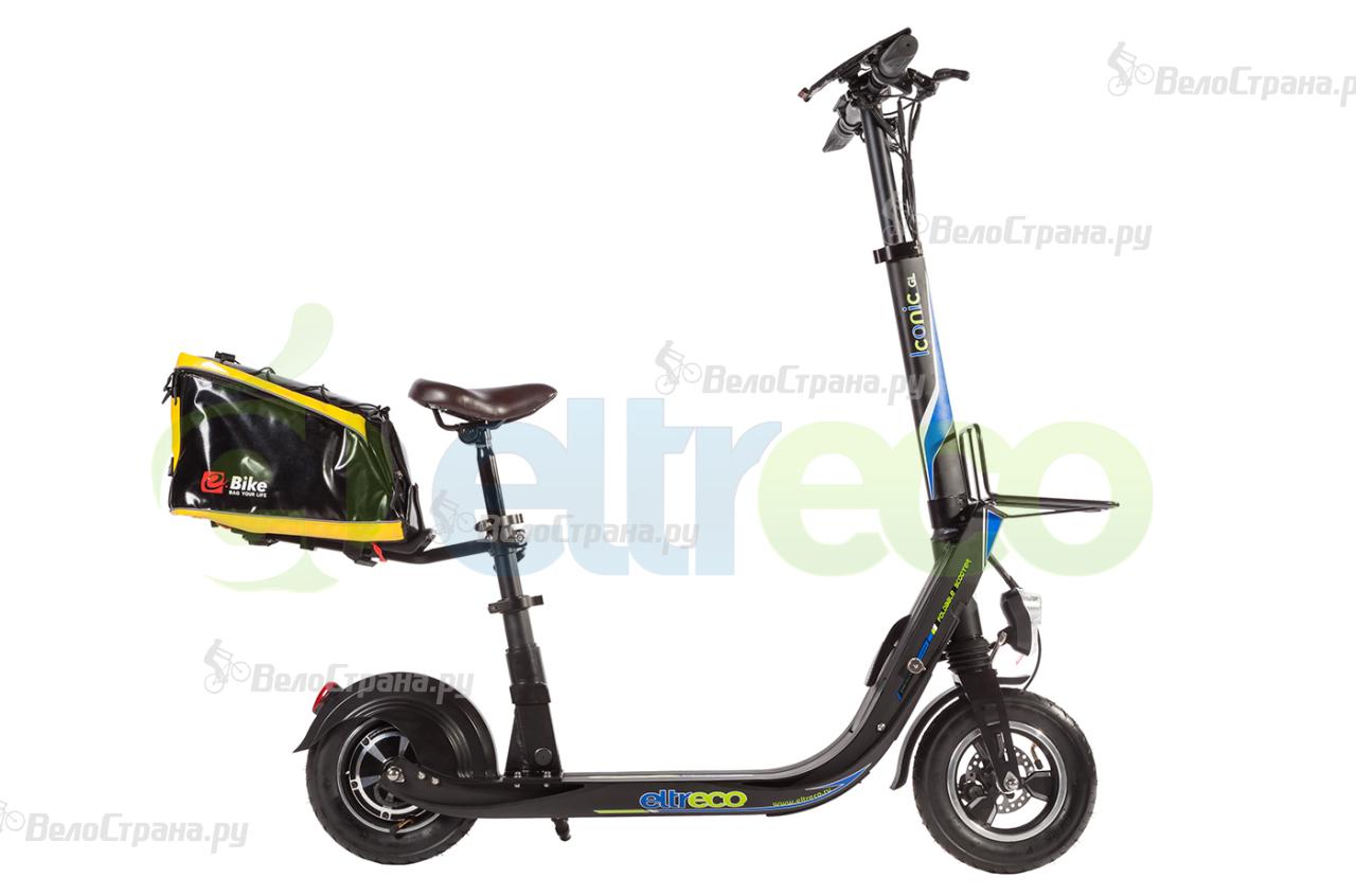 Электровелосипед Eltreco ICONIC GL 48V 500W LUX цена 2017