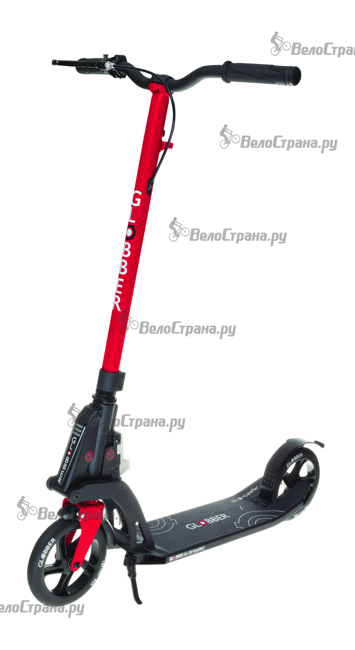 Самокат Globber My too One K180 с тормозом globber my too fix up titanium