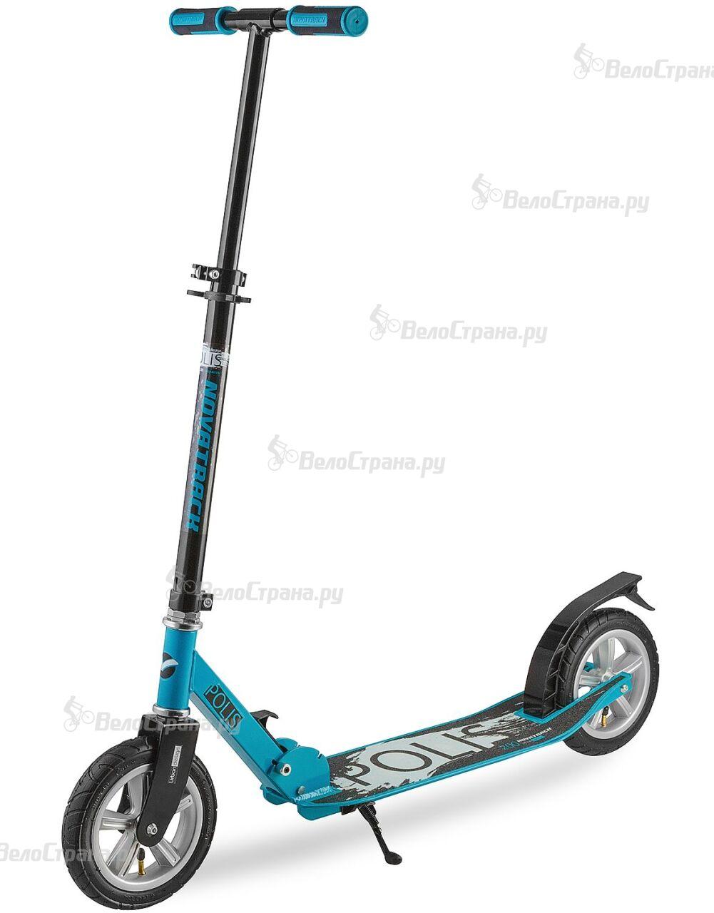 Самокат Novatrack Polis 200/200 (2018) novatrack самокат городской polis сталь пластик max 90кг колеса 200 мм синий 200p polis bl7