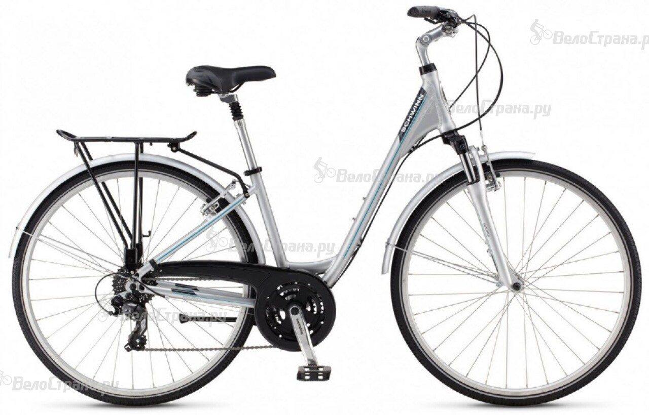 Велосипед Schwinn Voyageur 1 commute step-thru (2015) велосипед schwinn streamliner 2 step thru 2015