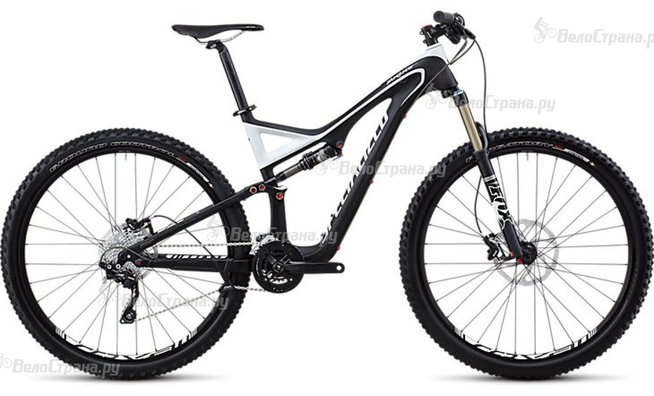 Велосипед Specialized STUMPJUMPER FSR COMP CARBON 29 (2013) manitou marvel comp 29