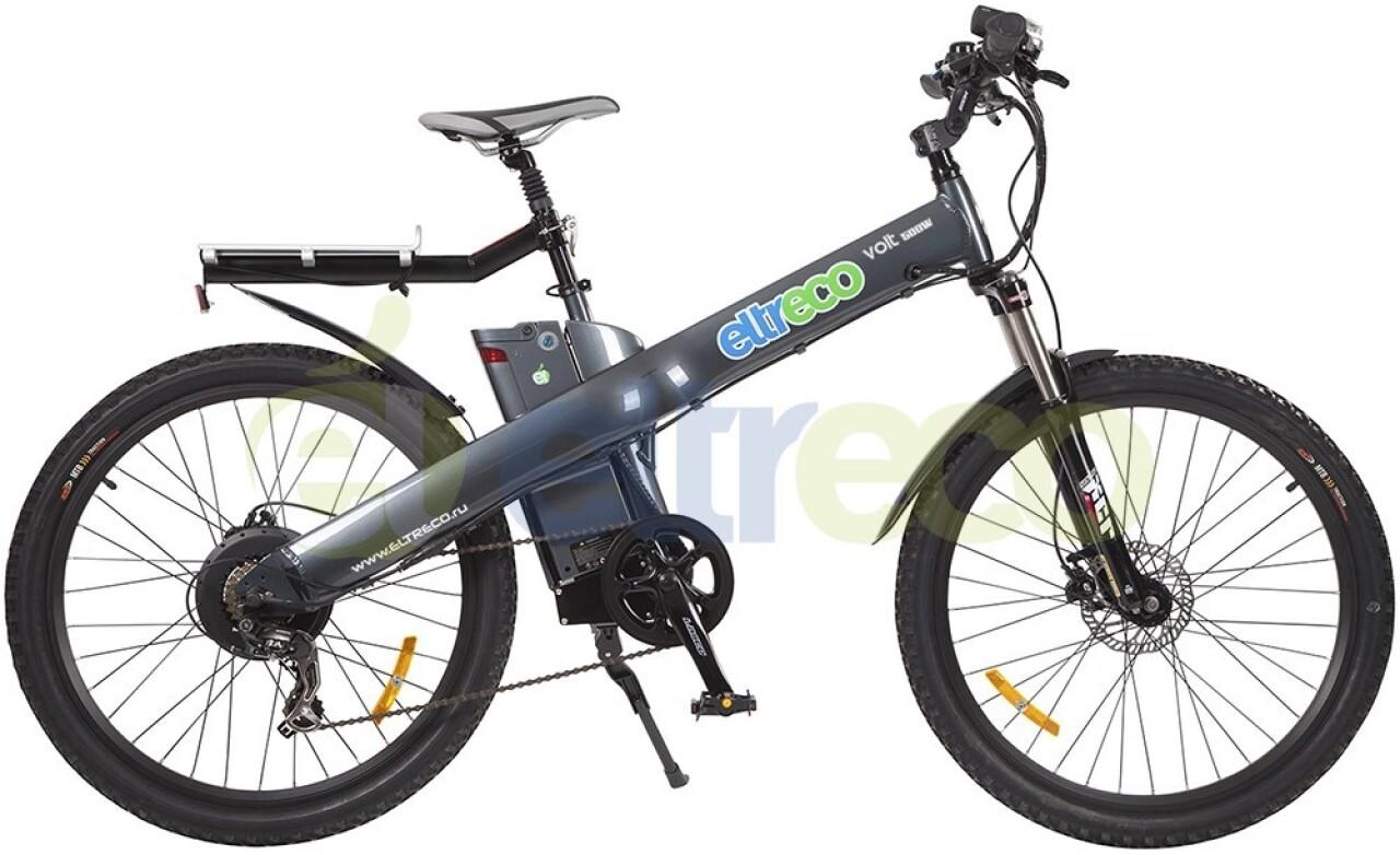 Велосипед Eltreco Air Volt 500W (2015) велосипед eltreco courier 2015