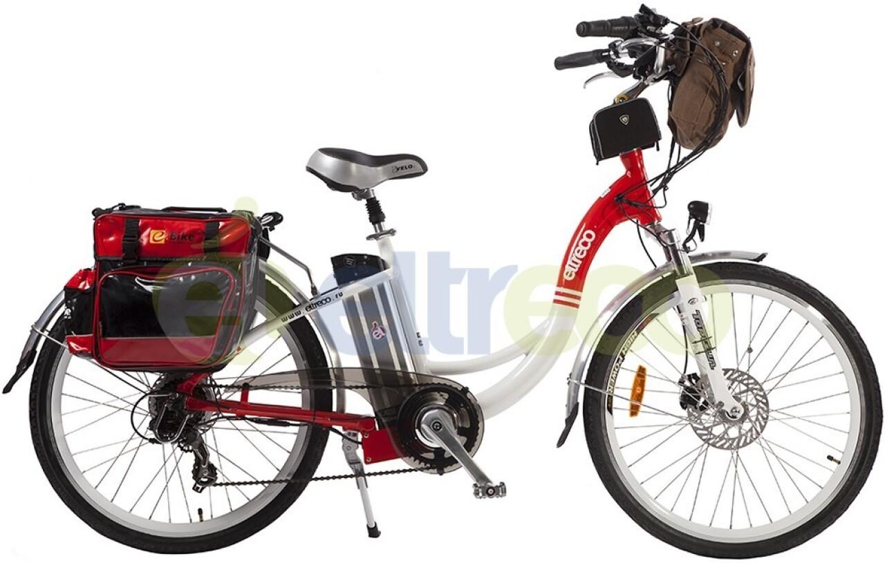 Велосипед Eltreco White Lux (2015) велосипед eltreco patrol кардан 28 камуфляж 2015
