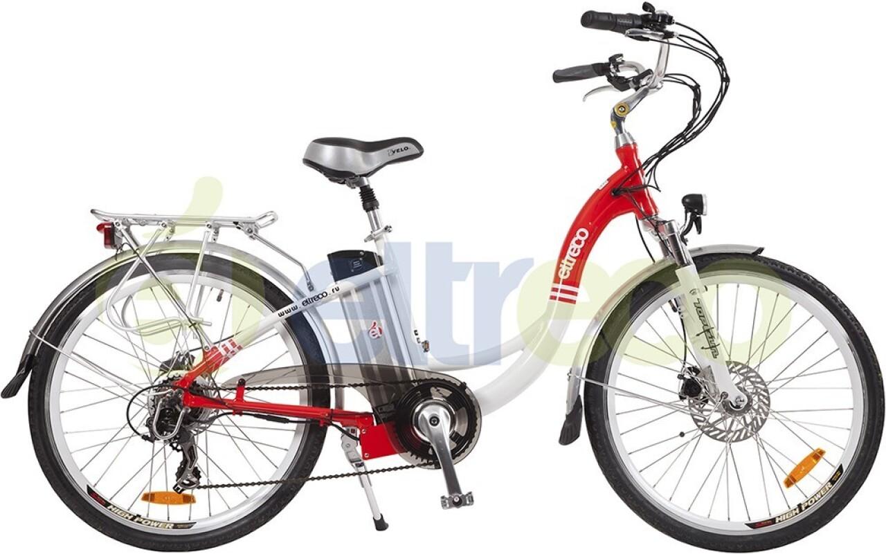 Велосипед Eltreco White (2015) велосипед eltreco courier 2015