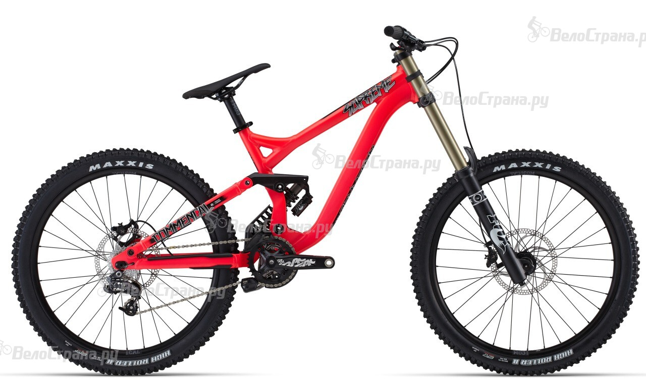 Велосипед Commencal Supreme DH (2014) велосипед commencal supreme dh o 650 b 2015