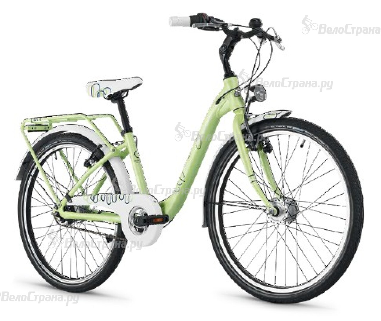 Велосипед Scool ChiX 24 7S (2014) велосипед scool chix pro 24 24 s 2016