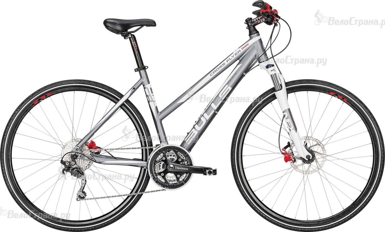 Велосипед Bulls Cross Flyer Disc Lady (2014) фиолетовый цвет 18 24 months