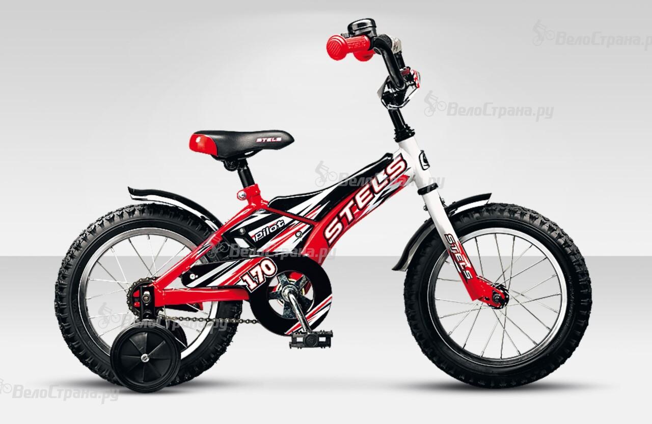 Велосипед Stels Pilot 170 14 (2015) велосипед stels pilot 110 14 2015