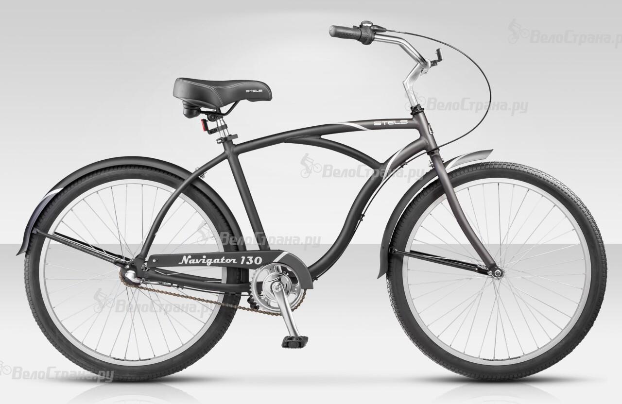 Велосипед Stels Navigator 130 3ск (2014) велосипед stels navigator 380 2014