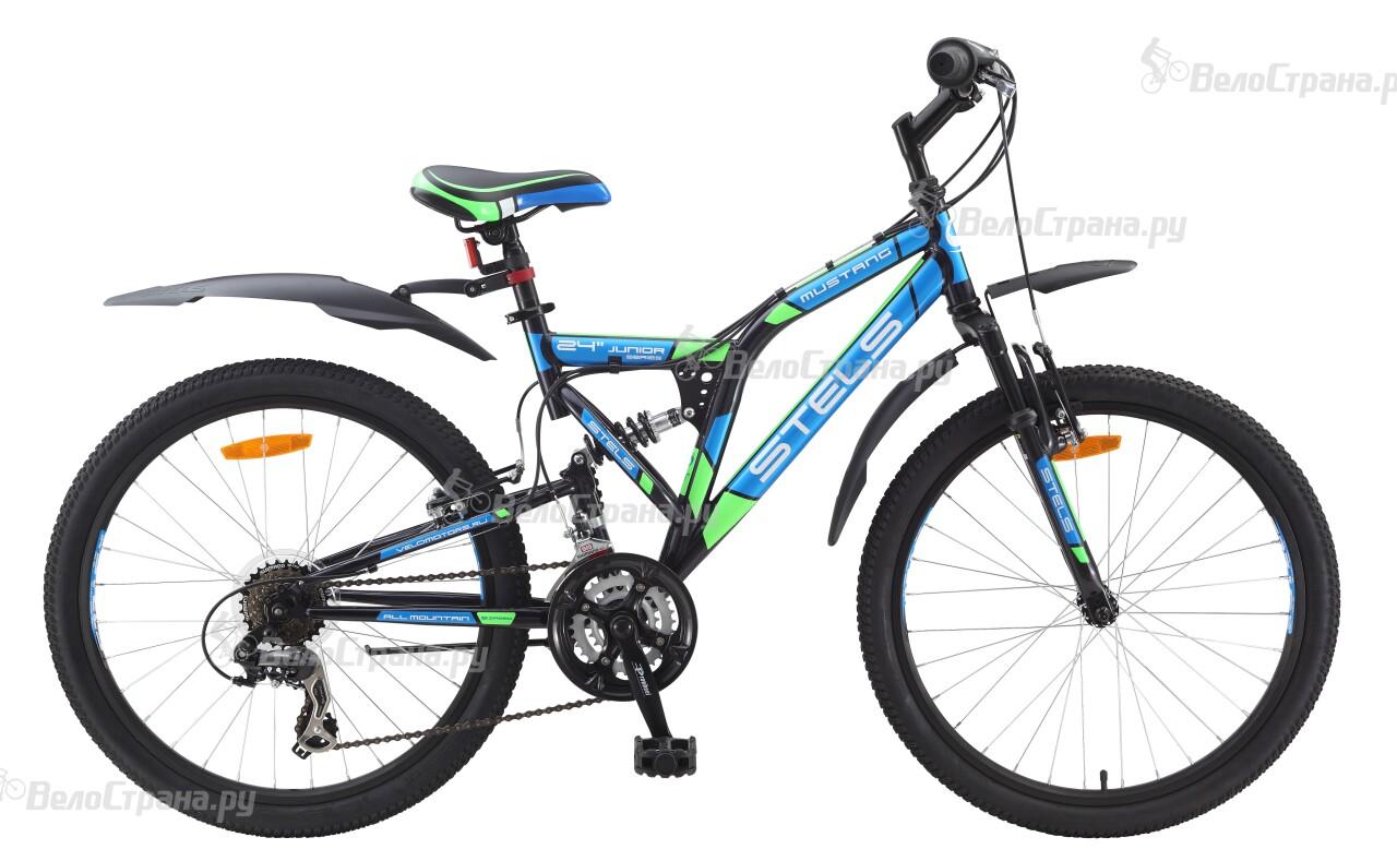 Велосипед Stels Mustang (2015) велосипед stels mustang v 16 2017 green