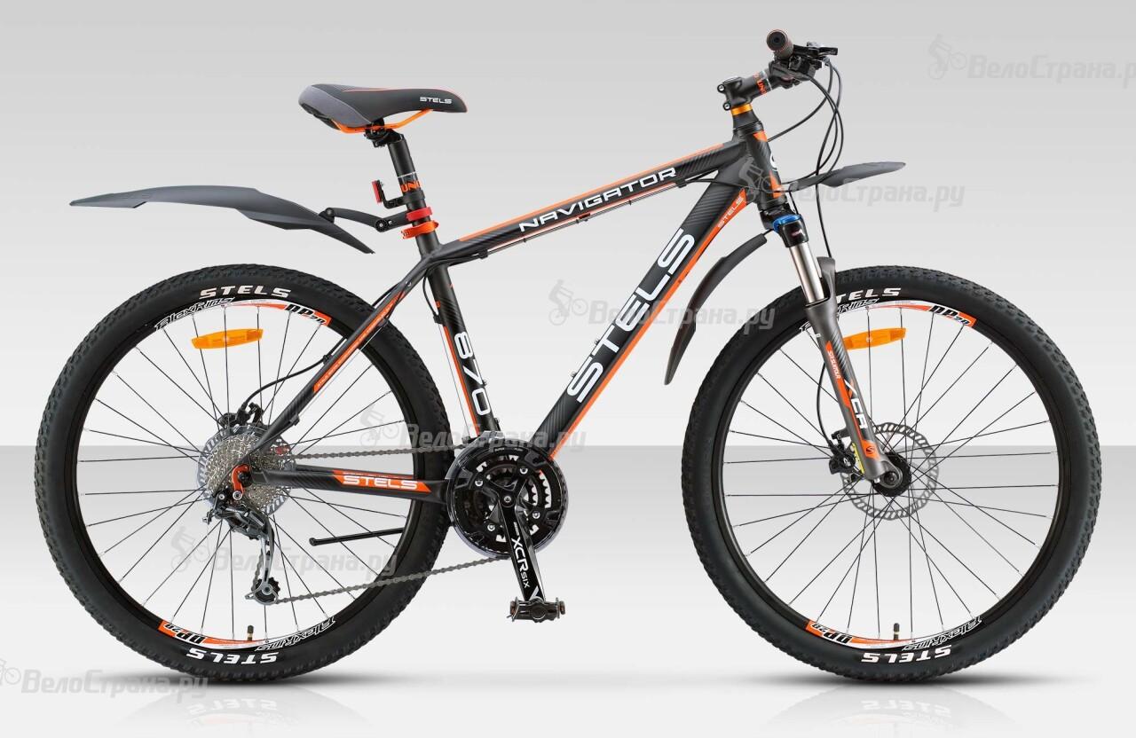 Велосипед Stels Navigator 870 D (2015) велосипед с корзиной stels navigator 380 gent 20 2015 black green