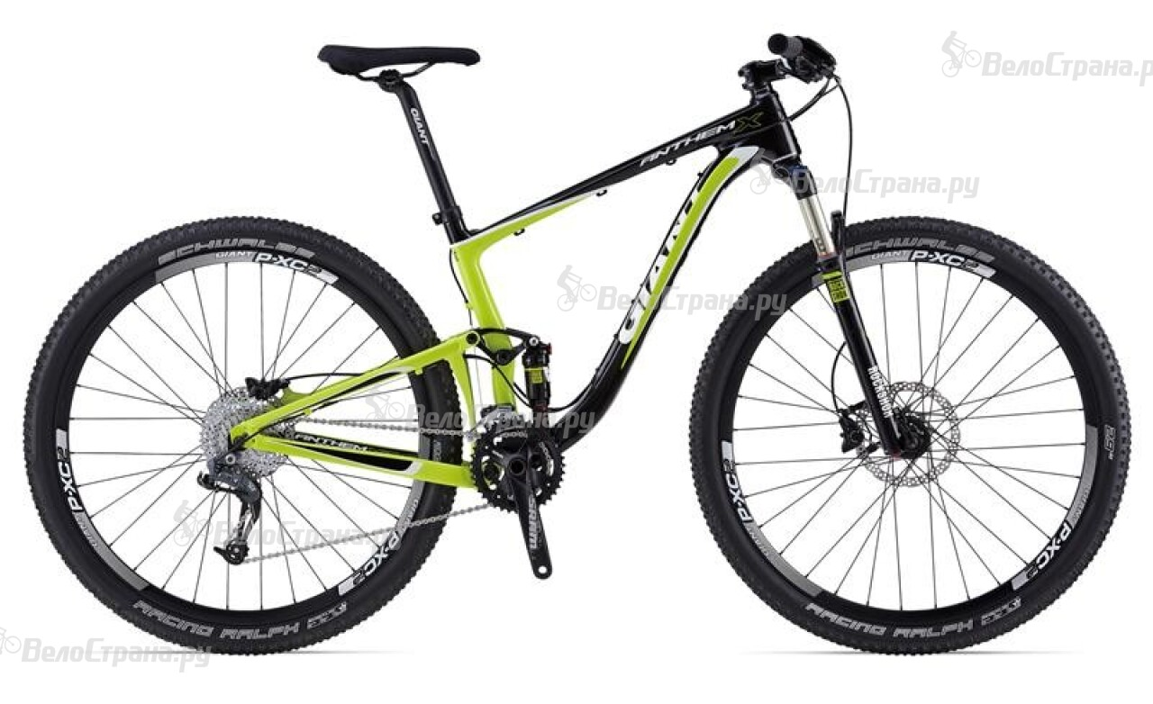 Велосипед Giant Anthem X Advanced 29er 2 (2014)