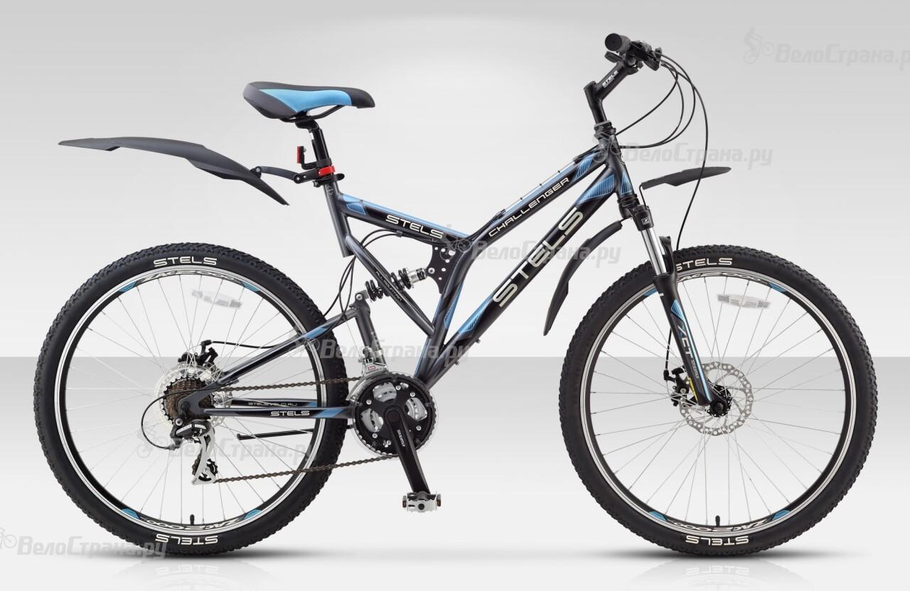 Велосипед Stels CHALLENGER Disc (2014) велосипед challenger mission lux fs 26 черно красный 16