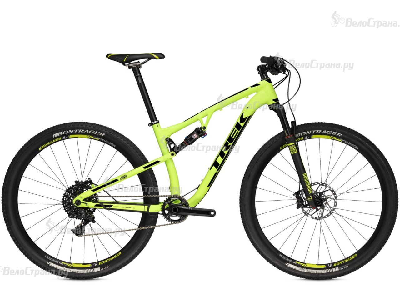 Велосипед Trek Superfly FS 9 (2015) велосипед challenger mission lux fs 26 черно красный 16