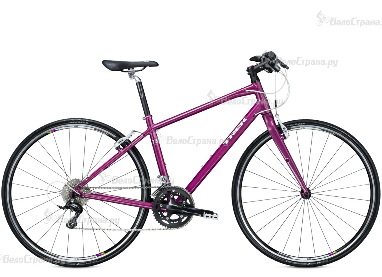 Велосипед Trek 7.5 FX WSD (2015) trek 7 2 fx wsd 2015