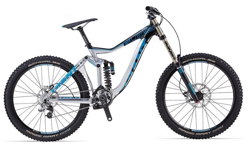Купить Велосипед двухподвес Giant Glory 0 (2014)