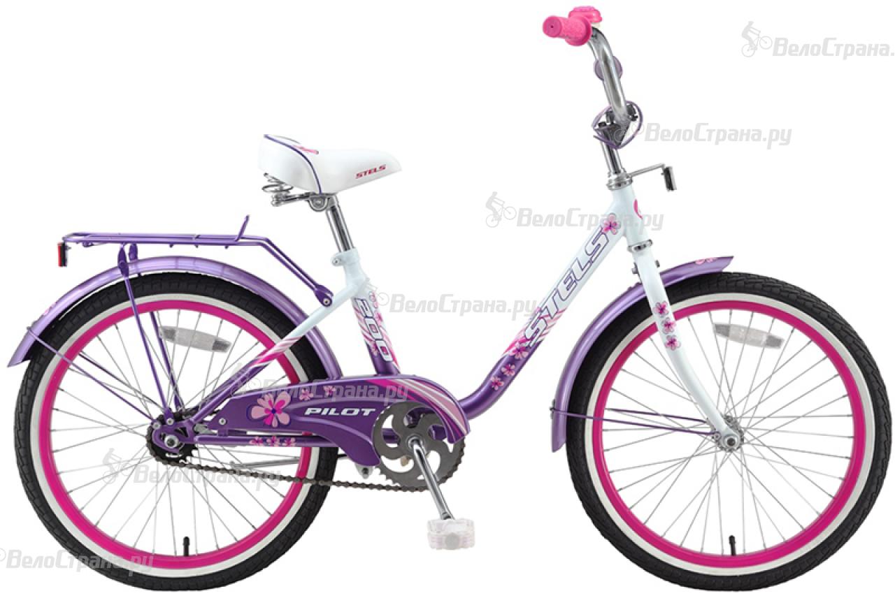 Велосипед Stels Pilot 200 Girl (2016) велосипед stels pilot 240 girl 3sp 2016