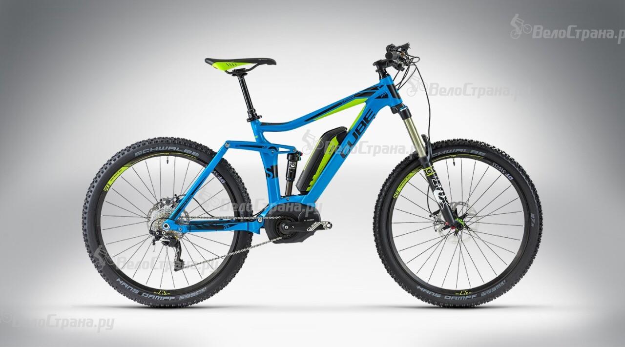 Велосипед Cube STEREO HYBRID 140 SL 27.5 (2014) велосипед cube town gtc hybrid 2014