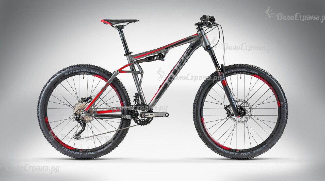 Велосипед Cube AMS 150 HPA Pro 27.5 (2014)