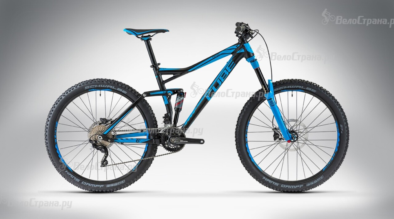 Велосипед Cube FRITZZ 160 HPA Pro 27.5 (2014) грипсы cube fritzz grips