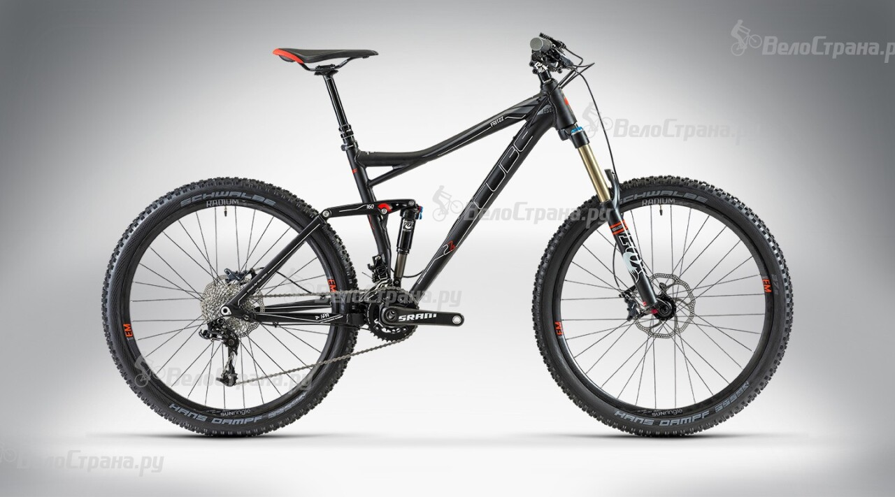 Велосипед Cube FRITZZ 160 HPA Race 27.5 (2014) грипсы cube fritzz grips