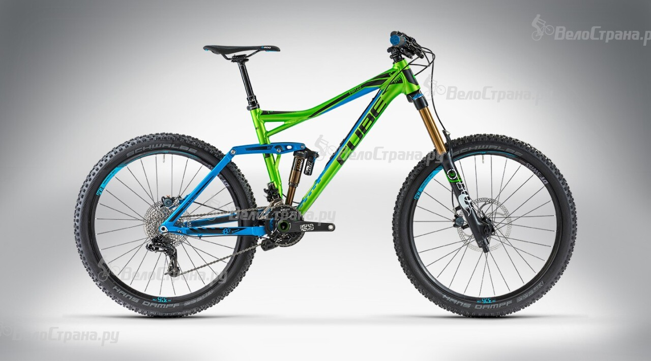 Велосипед Cube FRITZZ 180 HPA Race 26 (2014)