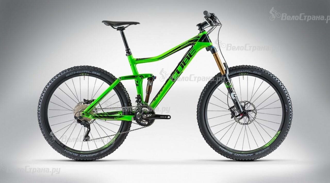 Велосипед Cube STEREO 160 SUPER HPC SL 27.5 (2014) велосипед cube stereo 120 super hpc sl 29 2015