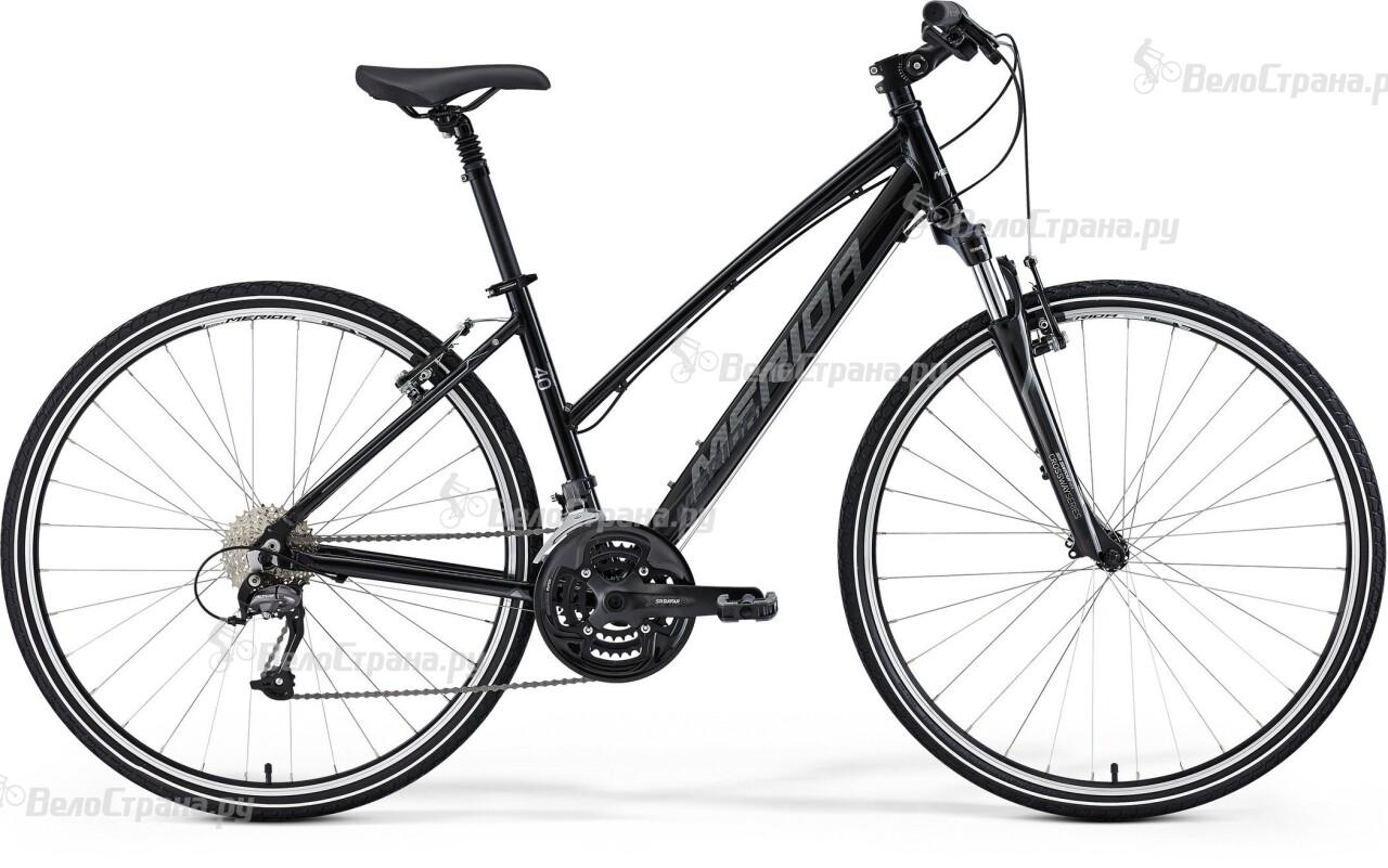Велосипед Merida CROSSWAY 40-V LADY (2015) трансмиссионное масло роснефть kinetic 80w85 мин 1л