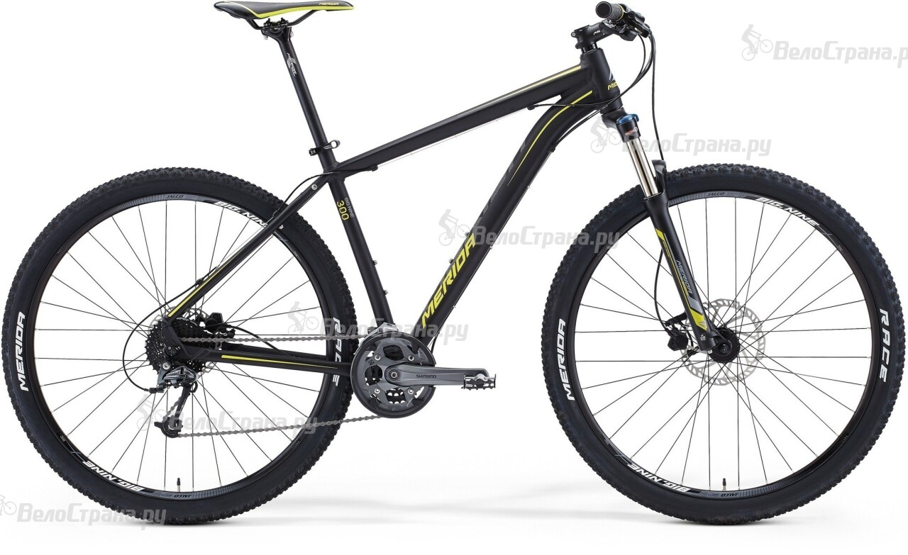Велосипед Merida BIG.NINE 300 (2015)