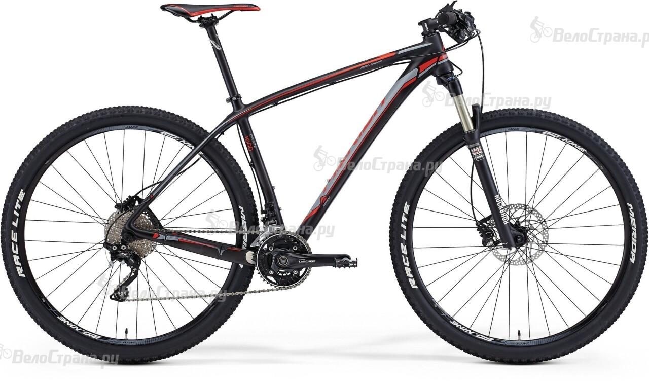 Велосипед Merida BIG.NINE 1000 (2015) manitou marvel comp 29