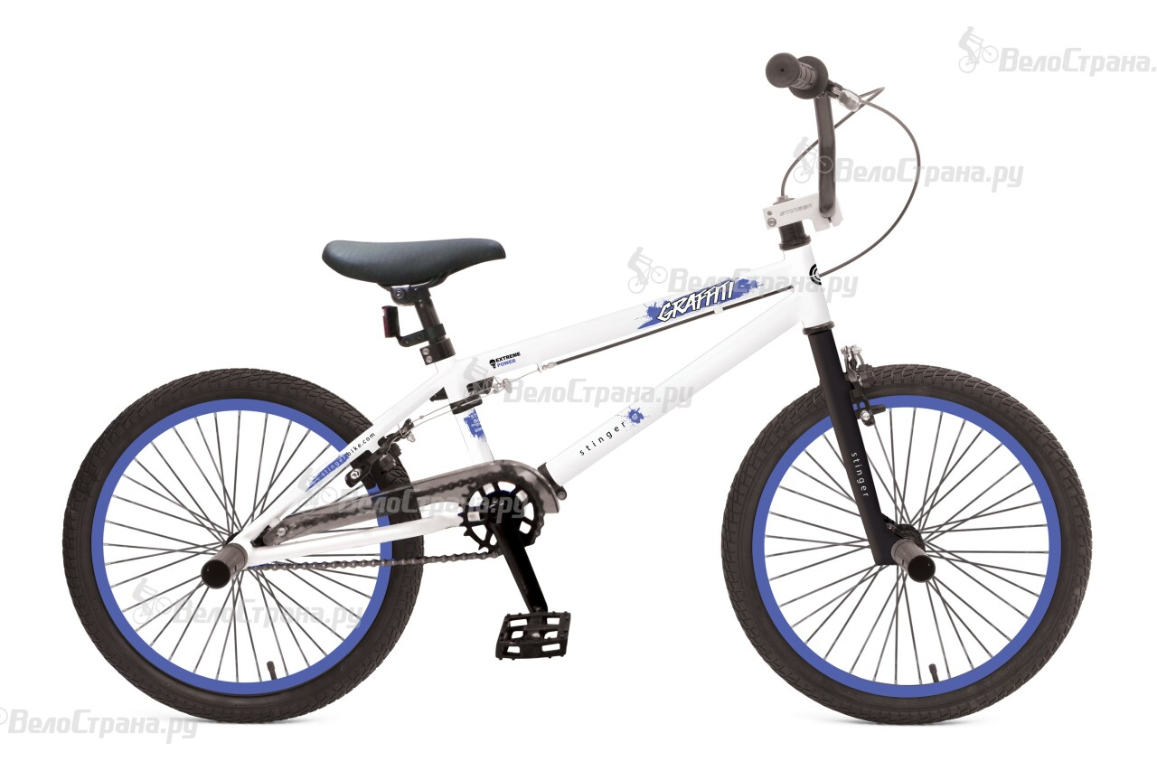 Велосипед Stinger BMX GRAFFITI 20 (2016) велосипед stinger х52647 bmx ace black matt
