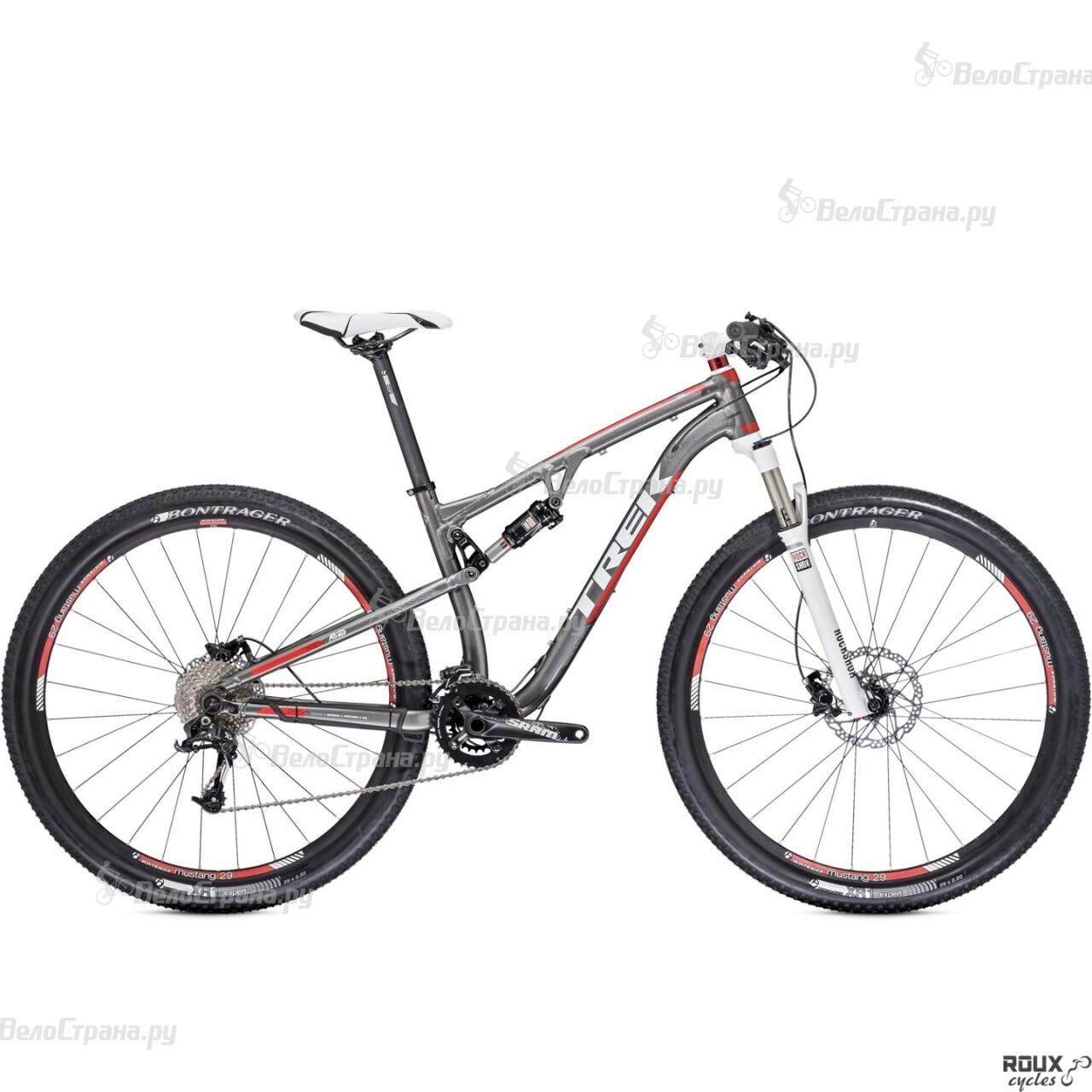Велосипед Trek Superfly FS 7 (2014) велосипед challenger mission lux fs 26 черно красный 16