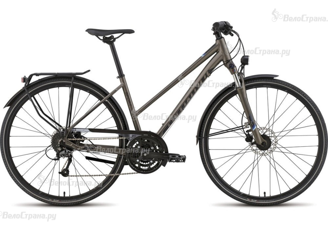Велосипед Specialized Crossover Sport Disc Step Through (2016) tisa sport step n9099