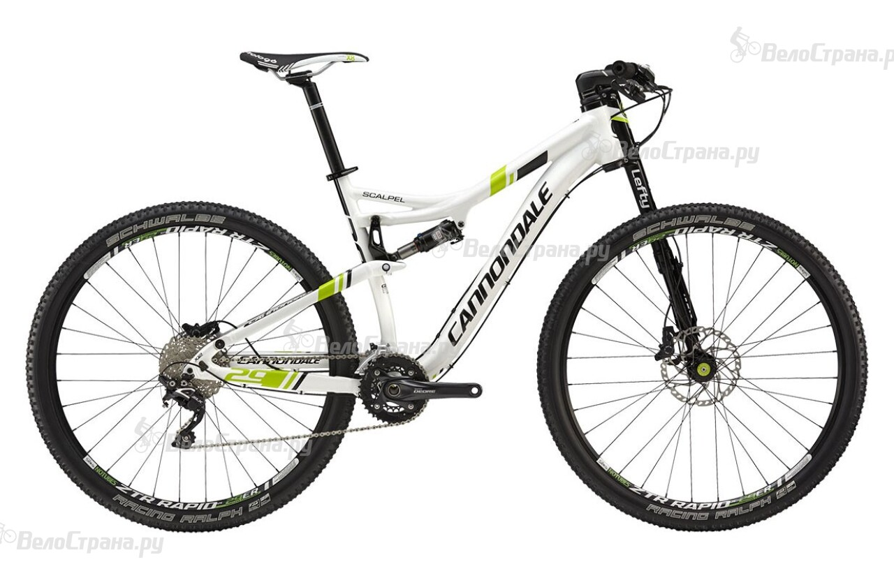 Велосипед Cannondale SCALPEL 29ER 4 (2015)