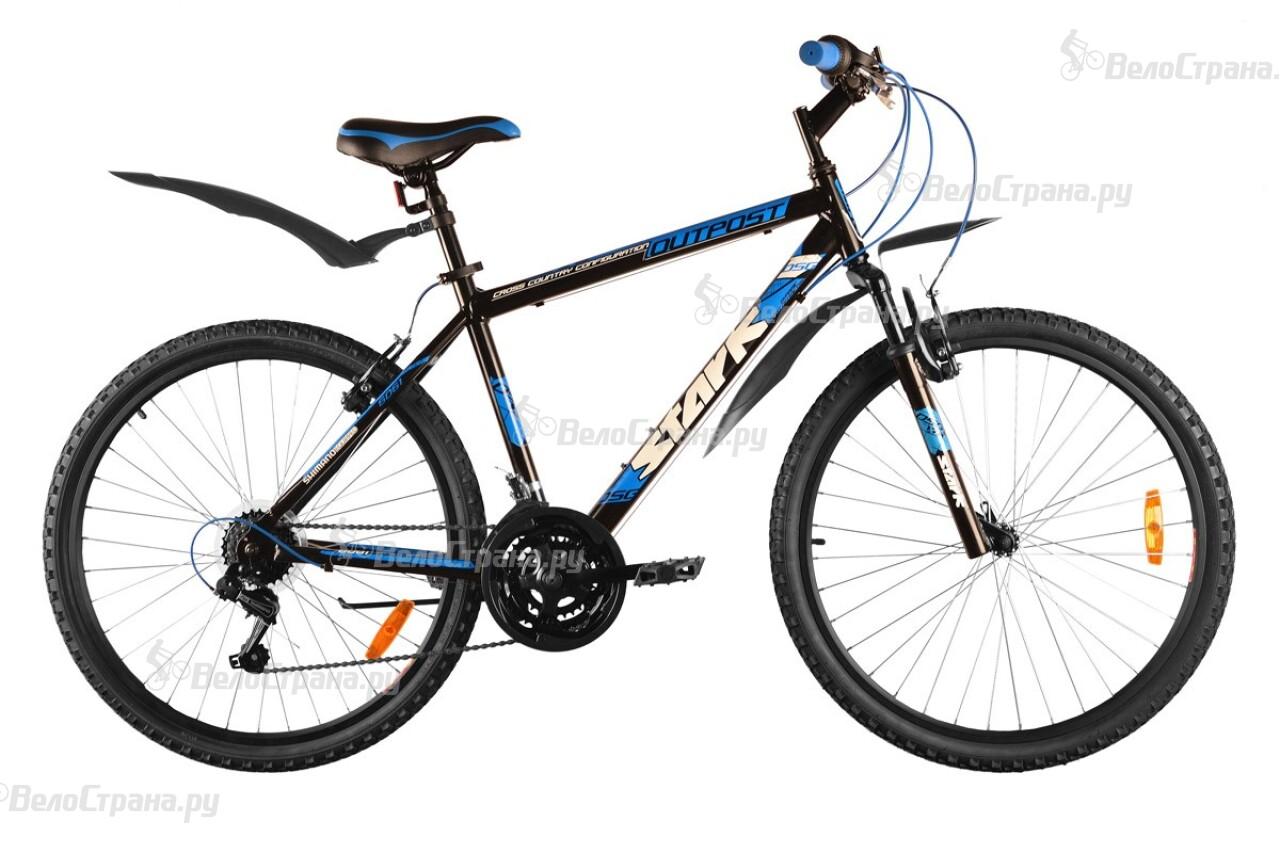 Велосипед Stark Outpost (2014) велосипед stark outpost 26 1 d черно зеленый 16