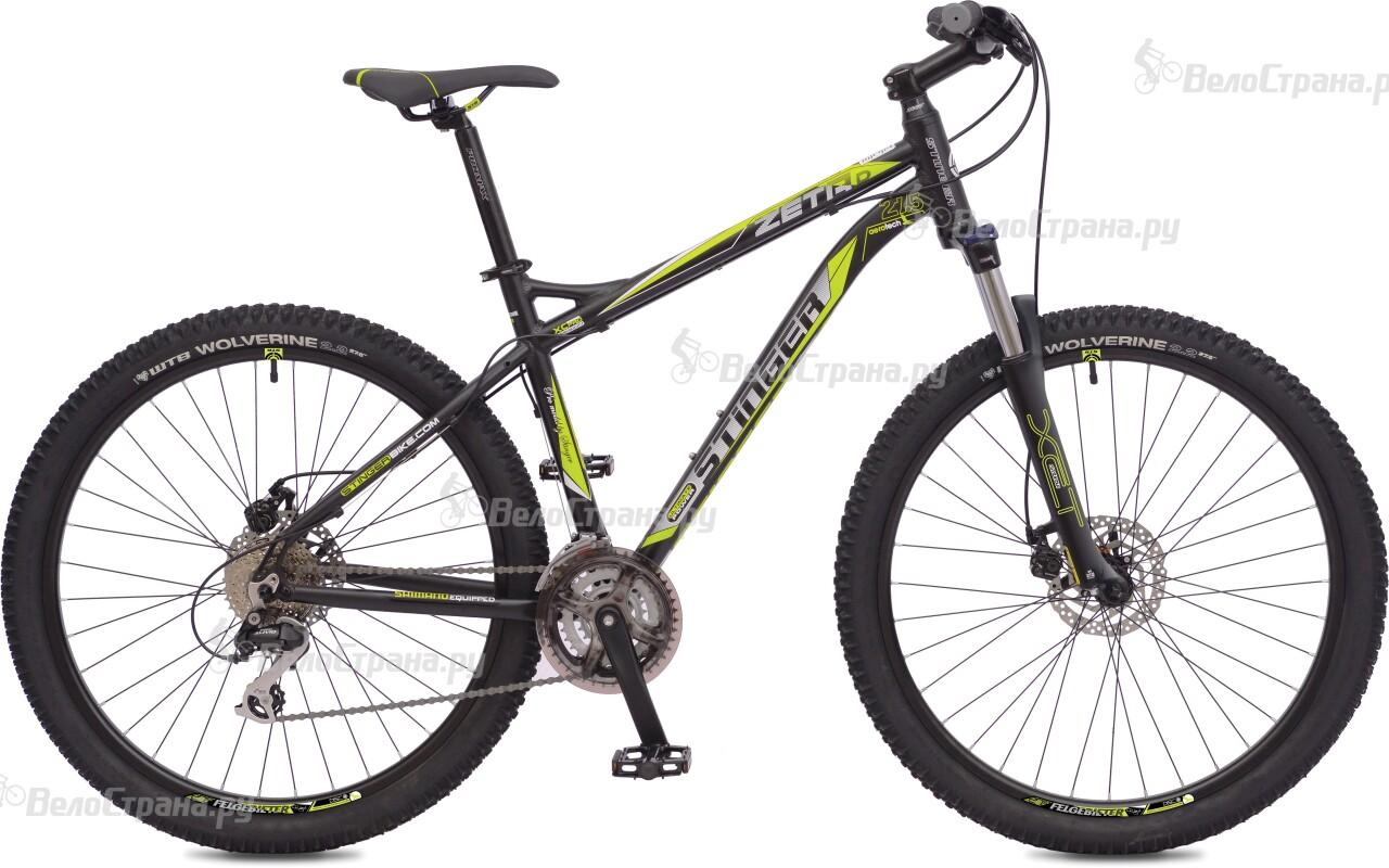 Велосипед Stinger Zeta D 27,5 (2016) велосипед stinger zeta d x43976 k 18 2015 grey orange