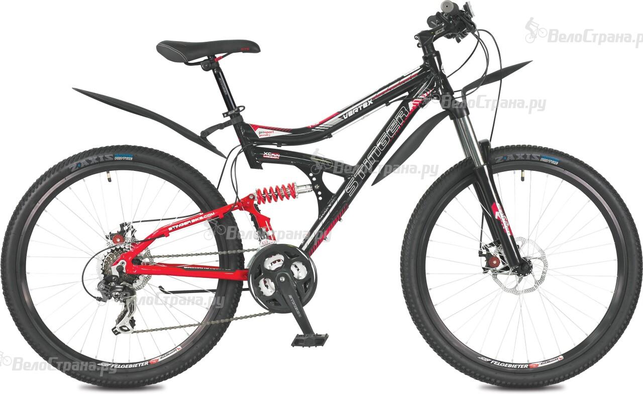 Велосипед Stinger Vertex 26 (2016) велосипед stinger python 26 2017