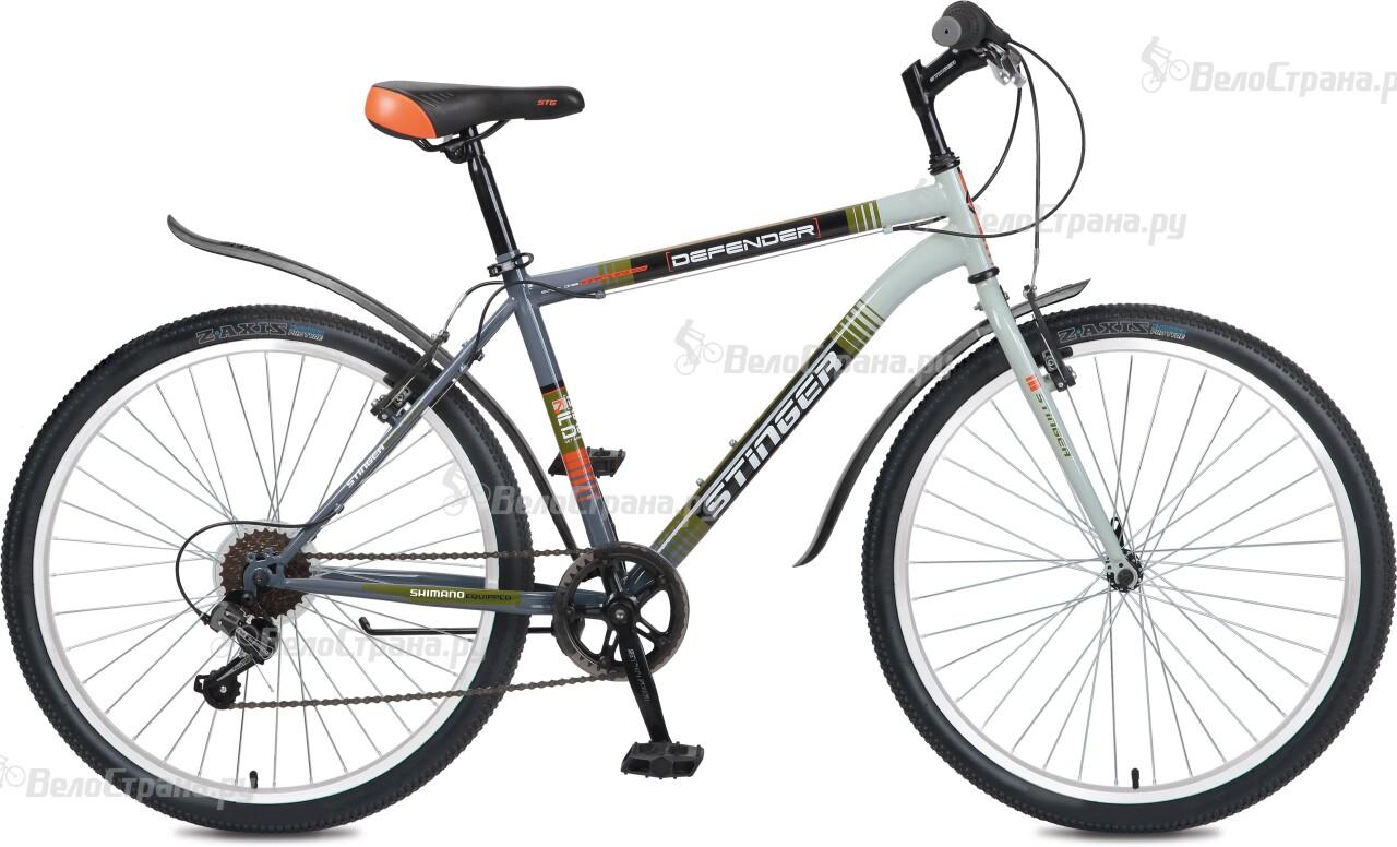 Велосипед Stinger Defender 26 (2016) велосипед stinger defender 26 2017