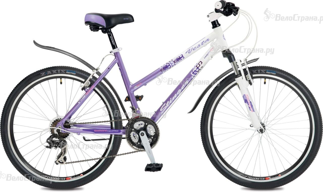 Велосипед Stinger Vesta V 26 (2016) велосипед stinger cruizer 26 2016
