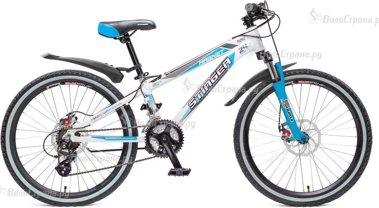 Велосипед Stinger Magnet JR 24 (2016) велосипед stinger magnet kid 20 2016
