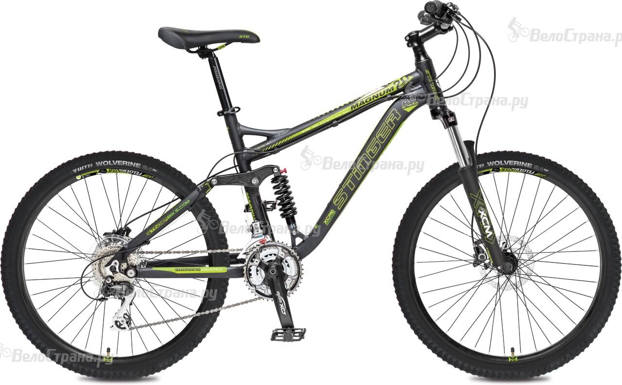 Велосипед Stinger Magnum 2.0 26 (2016) автомобильные зарядные устройства magnum зарядное устройство для автомобильных аккумуляторов magnum sa 8 pioneer